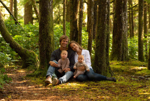 Bruhwiler family - Children's Health Foundation of Vancouver Island forest